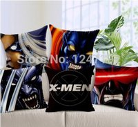 pillow cover - X men pattern cushion cover pillow case pillow covers decorative almofadas para sofa