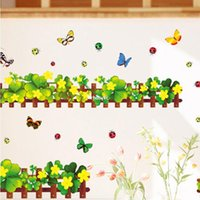 beautifully designed homes - 10 home decor Promotions bedroom wall stickers new backdrop beautifully decorated living room baseboard stickers AM5004