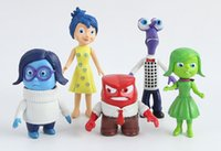 pvc cartoon figure - 2015 New Arrival Cartoon Movie Inside Out PVC Figure Toys set cm Collection PVC Dolls For Baby Gifts