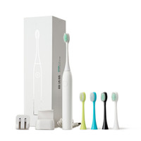 Wholesale Soft Wool Electric Toothbrush Massager Waterproof Whitening Cleaner Ultrasonic Sonic Rotary Electric Toothbrush With Toothbrush heads