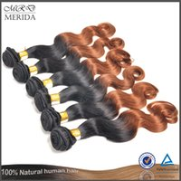 Cheap Malaysian Virgin Hair Weave Best Ombre Color Human Hair Extensions