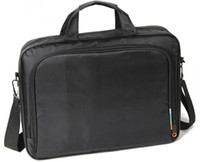 Wholesale Nylon Notebook Laptop Portable Business Shoulder Men Bag inch Black