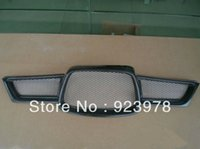 Subaru auto wrx - Grille For impreza WRX Carbon Fiber Grliie Auto Front Grille Body Kit