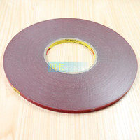 Wholesale Car taped word plastic trim modified with plastic foam adhesive double sided adhesive car tuning