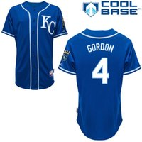 alex mix - Baseball Jerseys Men s Kansas City KC Royals Jersey Alex Gordon Dark Blue Jersey Authentic Cool Base Jerseys Mix Order