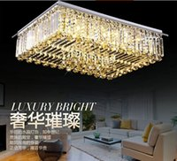 Wholesale 2015 new item L900 w700 H300mm living room contemporary crystal chandelier lustres hotel projects modern lighting