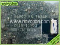 atom cpu board - brand new PBU00 LA P K000114320 motherboard for toshiba satellite NB500 NB505 laptop main board DDR3 Intel Atom N550 CPU