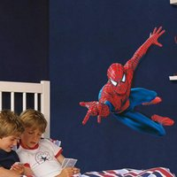Wholesale The New Wall Stickers Home Decor Large Spiderman For Boy Room Wall Art Stickers Decal WS4018