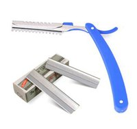Wholesale Beautician studio special threading knife scraping knife eyebrow makeup artist rest pieces of the blade