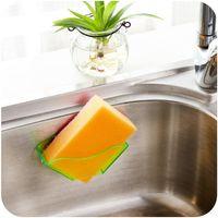 Wholesale New Double Suction Cup Sink Shelf Sponge Drain Rack Multi Purpose Bathroom Kitchen Storage Holder Special Offer Promotion