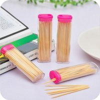 Wholesale 1 piece creative plastic pink toothpick box automatic lighter shape toothpick holders table decoration Z