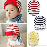 baby baseball hats - Hot Sales Kid Baby Toddler Infant Children s Caps Baseball Beret Hats Cotton Soft PX244
