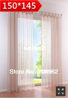 Wholesale New arrivals western finished curtain High quality voile tulle curtains quot quot