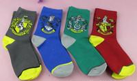 basketball comic - New fashion Gryffindor harry potter Socks Towel bottom sox calcetines meias Comics Sports Socks Manual cloak colors