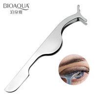 Wholesale Brand High Quality Beauty Products Silver Stainless Steel Easy To Carry Eyelash Curler False Curling Eyelashes Tool For Makeup And Cleansing