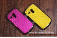 Cheap For Samsung Galaxy Siii S3 Mini I8190 Bling Rhinestone Diamond fashion phone Case color Mixed batch Direct Shipping