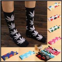Wholesale Brand Men Socks Hip Hop Socks Fashion Cannabis Plantlife Socks Sport Weed Women basketball Stockings Sock