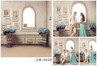 Wholesale Custom X7FT European Retro Indoor Studio Background Photography Backdrop For Photos Vinyl Senior Digital Backgrounds