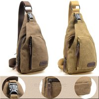 Wholesale 2015 New Fashion Canvas Bag Men s Travel Bags Men Messenger Bags Military Chest Bag Pocket for Sports Hiking Travel B9076