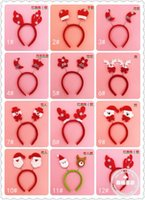 Wholesale Christmas head buckle hair bands factory direct Christmas Crafts Christmas Supplies Christmas gifts