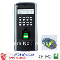Wholesale Special Price for Zksoftware F7 Fingerprint time attendance and Door Access control device TCP IP