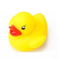 Wholesale ONLY Baby Bath Toy Yellow Multi Color LED Lamp Light Duck L