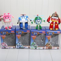 Wholesale hot poli deformation car Robocar bubble toys models South Korea mix robocar poli