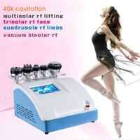 Wholesale Ultrasonic Cavitation Vacuum Liposuction Laser Bipolar RF Factory price high quality slimming machine rf cavitation machine New products