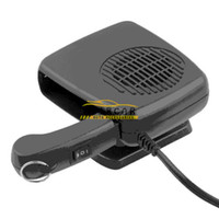 Wholesale 2in1 Warm Hot Cold Auto Fan Car Portable Ceramic Heater Cooler Dryer Fan Defroster Demister DC V W