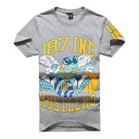 al por mayor las agencias de contratación comercio-2015 modelos calientes de comercio exterior de la marca Hip-Hop hombres marea ocasional del algodón carta camiseta del muchacho de la Agencia de Comercio Exterior Reclutamiento
