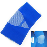 Wholesale New Sport Elastic Breathable Knee Portector Guard Support Brace Blue Wrap
