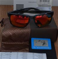 Wholesale New Polaroid Sunglasses Fashion men Goggles Sunglasses holbrook sports sunglasses Multicolor lens chose Cycling Travelling Goggles free ship