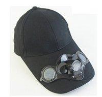 solar fan cap - Custom Sun hat with Solar fan cotton baseball cap az004