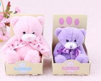 achat en gros de petits cadeaux en peluche-Mignon doux Teddy Bears Peluches 15cm Cadeaux Petit peluche bébé oursons en peluche Poupées de Noël en peluche gros