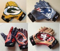 golf gloves leather - 2015 Sports Gloves Boxing Baseball American Football Team Youth Cheap Gloves Exercise Training Accept Mix Order More Styles