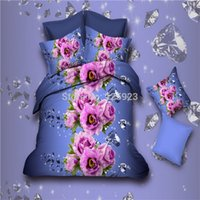 beautiful quilt patterns - beautiful Heart shaped Roses d Diamond pattern bedding sets pillowcases quilt cover bed sheet