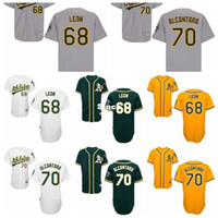alcantara blue - 30 Teams Top Quality Arnold Leon Raul Alcantara Stitched Jersey Men s Authentic White Cool Base Oakland Athletics Baseball Jersey