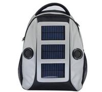 Unisex tennis bags - Hiking backbag with Solar charger Solar bag Music Speaker bag az009