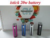 Wholesale E leaf iStick W Mod mah Electronic Cigarette Battery With OLED Screen VS istick W Fit Toptank Mini Uwell crown Protank