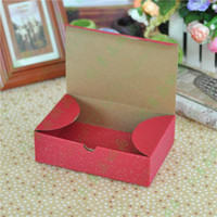 bakery gift box - X mas Red Bakery Cake Box Pastry Biscuits Cookies Mooncake Corrugated Paper Gift Packaging Boxes cm