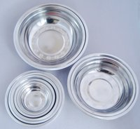 Wholesale 12 More high grade deepen stainless steel plate disc flat tray hotel restaurant for sale plate