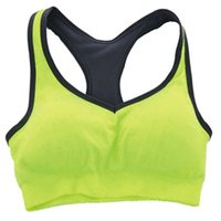 athletic works brand - 2015 Brand New Female Shock free Athletic Vest Gym Sexy Sports Bra Sport Underwear for Work out Jogging Yoga Running order lt no track