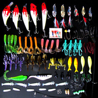 Wholesale 100Pcs Mixed Models Fishing Lures Mix Minnow Lure Crank Bait Tackle Isca Artificial Carp Fishing Tackle