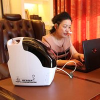 Wholesale L Concentration portable oxygen concentrator Car mini oxygen bar M1 with car inverter year warranty