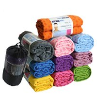 Wholesale 2015 Yoga Blankets Health Care Skidless Yoga Towel Yoga Mat Non slip Yoga Mats for Fitness Yoga Blanket Multi Color