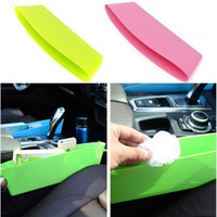 small plastic boxes - New Convenient Car Seats Decor Compressible Cracks Box Colorful Plastic Storage Small Things Receive Box