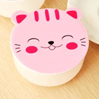 Wholesale Kawaii Candy Color Cartoon Patterns Lunch Box Microwave Oven Bento Container Case Dinnerware Children s Birthday Gift