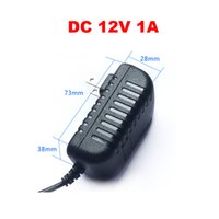 Wholesale High Qualty DC V A Power Supply Adaptor Security professional Converter UK US AU EU Adapter with m cable