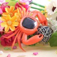 Wholesale Solar Energy Flip Flap Solar Crab Dancing Toy Cute Small Crab Car Decoration Solar Toys
