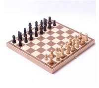 Wholesale Top quality Classic Wooden International Chess Set Board Game Foldable